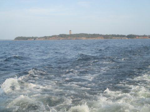 Haapasaari mereltä
